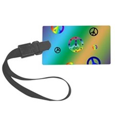 Peace Signs Luggage Tag