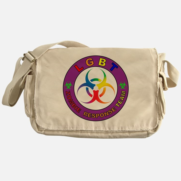 Cute Response team Messenger Bag