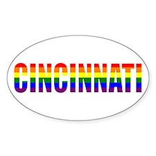 Cincinnati Pride Oval Decal