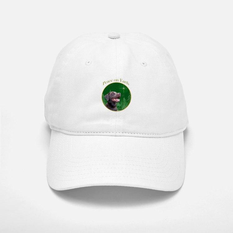 Chocolate Lab Peace Baseball Baseball Cap