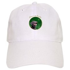 Chocolate Lab Peace Baseball Cap