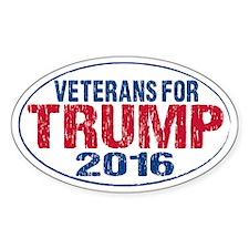 Veterans for Trump Decal