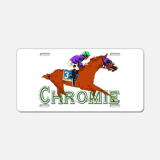 Be a California Chrome Chromie Aluminum License Pl