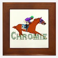 Be a California Chrome Chromie Framed Tile