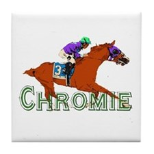 Be a California Chrome Chromie Tile Coaster