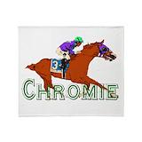 California chrome Fleece Blankets