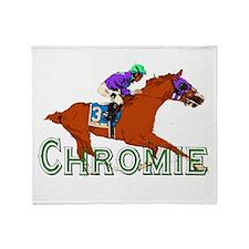 Be a California Chrome Chromie Throw Blanket