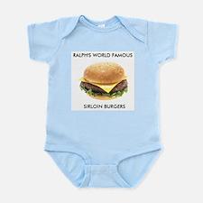 Ralph's World Famous Sirloin Burgers Body Suit