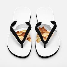 poutine Flip Flops