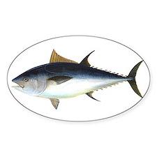 Bluefin Tuna illustration Decal