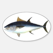 Bluefin Tuna illustration Decal