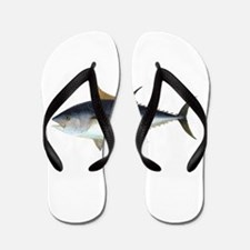 Bluefin Tuna illustration Flip Flops