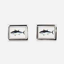Bluefin Tuna illustration Rectangular Cufflinks