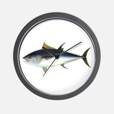 Bluefin Tuna illustration Wall Clock