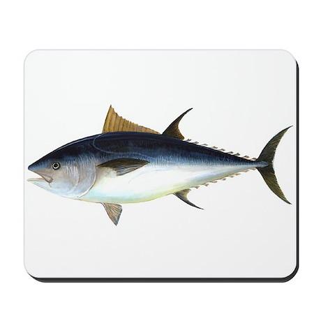 Bluefin Tuna Illustration Mousepad