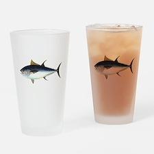 Bluefin Tuna illustration Drinking Glass