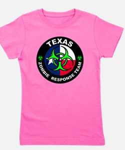 Cute Zombie response team Girl's Tee