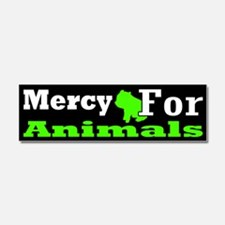 Funny Animal rights Car Magnet 10 x 3