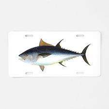 Bluefin Tuna illustration Aluminum License Plate