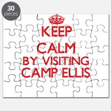Keep calm by visiting Camp Ellis Maine Puzzle