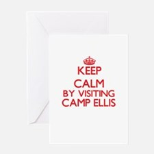 Keep calm by visiting Camp Ellis Ma Greeting Cards