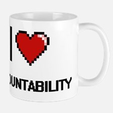 I Love Accountability Digitial Design Mug