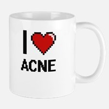 I Love Acne Digitial Design Mugs