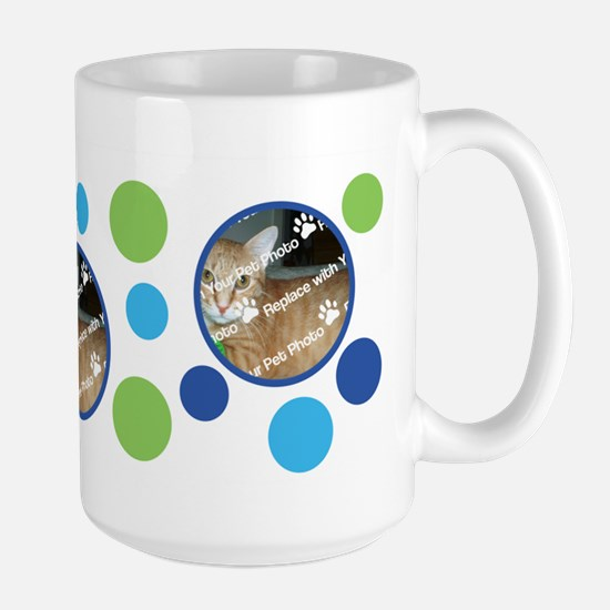 PERSONALIZE Add Your 3 Photos DIY Large Mug