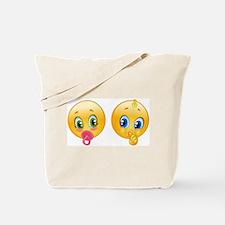 baby emoji Tote Bag