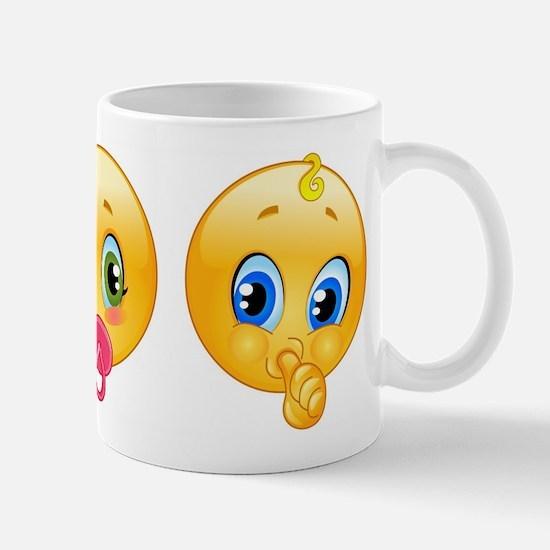 baby emoji Mugs