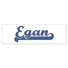 Egan (sport-blue) Bumper Bumper Sticker
