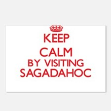 Keep calm by visiting Sag Postcards (Package of 8)