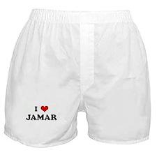 I Love JAMAR Boxer Shorts