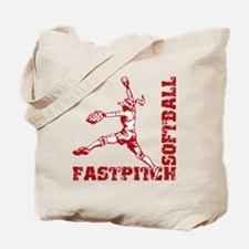 Fastpitch Corner Tote Bag