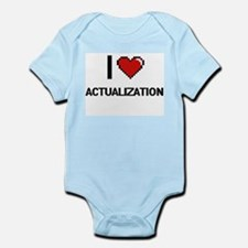 I Love Actualization Digitial Design Body Suit