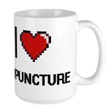 I Love Acupuncture Digitial Design Mugs