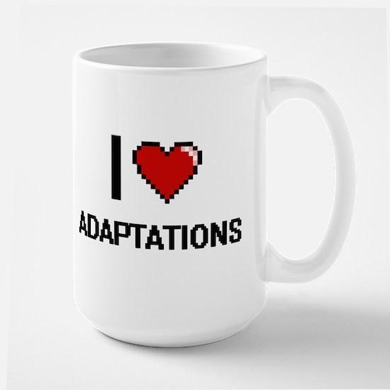 I Love Adaptations Digitial Design Mugs
