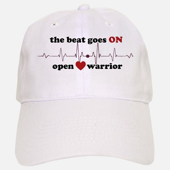 Open heart warrior Baseball Baseball Cap