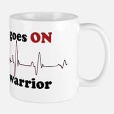 Open heart warrior Mug