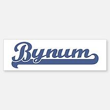 Bynum (sport-blue) Bumper Bumper Bumper Sticker