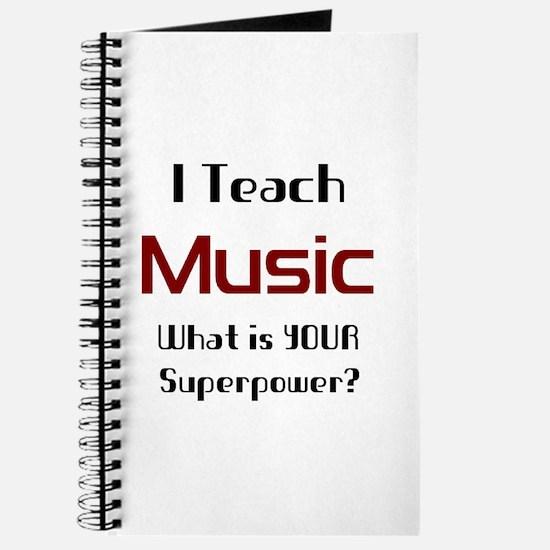 teach music Journal