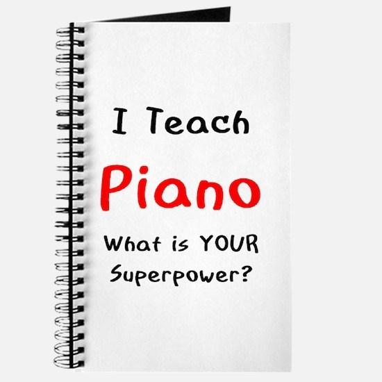 teach piano Journal