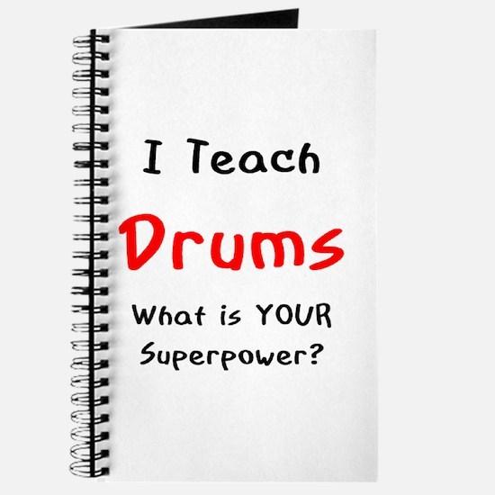 teach drums Journal