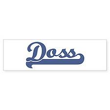 Doss (sport-blue) Bumper Bumper Sticker