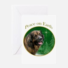 Leonberger Peace Greeting Card