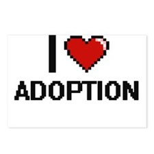 I Love Adoption Digitial Postcards (Package of 8)