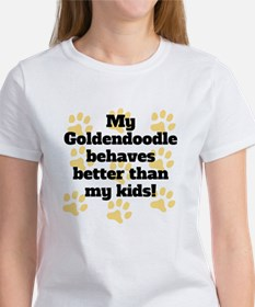 My Goldendoodle Behaves Better T-Shirt