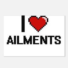 I Love Ailments Digitial Postcards (Package of 8)