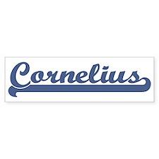 Cornelius (sport-blue) Bumper Bumper Sticker