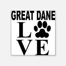 Great Dane Love Sticker